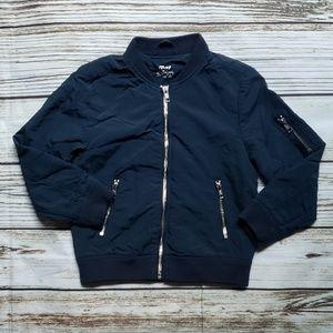 H&M 6-7y blue jacket